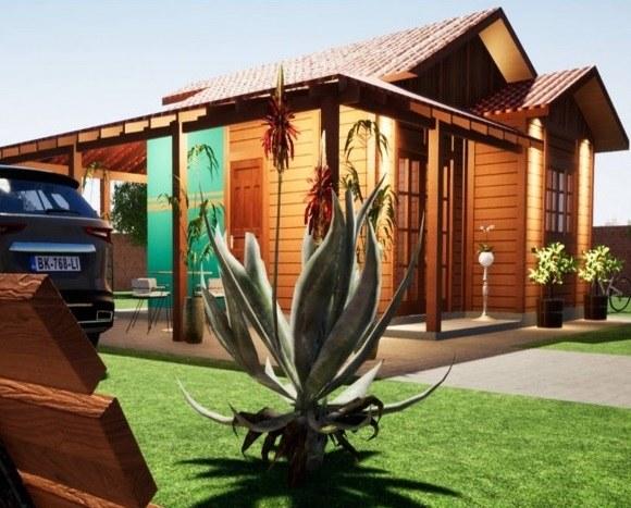 Casa De Madeira Parana 81M²