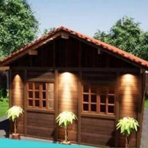 Casa de Madeira Tradicional Ecomorada