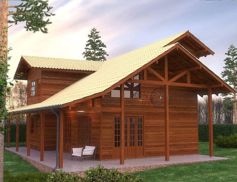 Vantagens Casas pre fabricadas em madeira