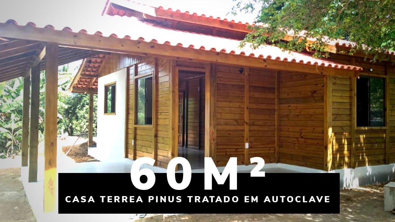 Casa Pre Fabricada De Madeira Ecomorada